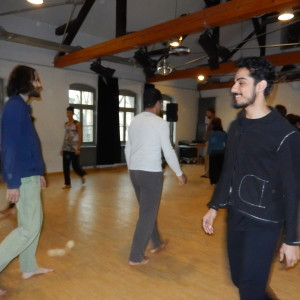 DANCING HEARTS, ESCAPING BODIES Afshin Ghaffarian punti di fuga Dresden artistic intercultural project