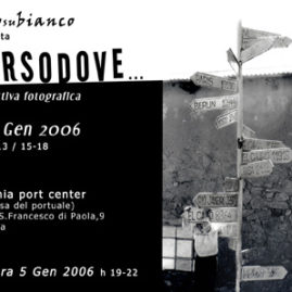 Verso Dove – Collective Exhibition – B/W negative film